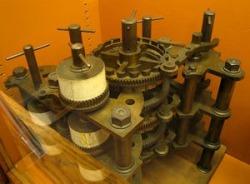 Réplica da máquina diferencial de J. Muller (de 1786).
